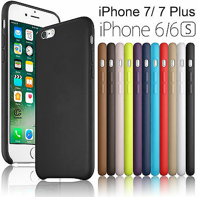 Slim Luxury PU Leather Ultra-thin Back Case Cover For iPhone 8 / 7 / 6s Plus