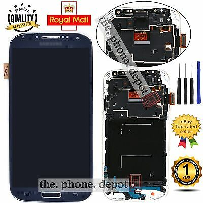 Black LCD Display Digitizer & Touch Screen & Frame For Samsung Galaxy S4 i9505