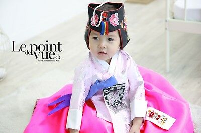 **Hanbok store** Korean Hanbok girls baby birthday tradition costume dress hg034