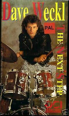 Video Dave Weckl, The Next Step, Schlagzeuglernkurs - Video Pal System