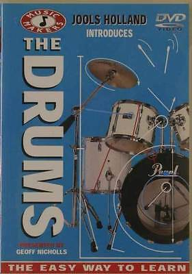 DVD - The Drums - Jools Holland - Introduces - The Easy Way To Learn Drums