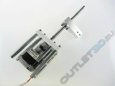 Linear Actuator Module 150mm- Coupling&Microstep motor - Z axis, CNC, Reprap