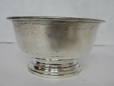 VINTAGE REVERE .925 STERLING SILVER CANDY DISH BOWL 108.9g  E713
