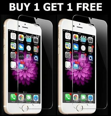 Buy 1 Get 1 Free Tampered Glass Film Screen Protector For Apple iPhone 6
