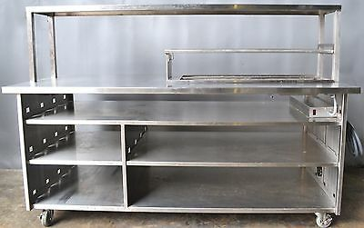 "Used Frank Heated 75"" Serving Line,Excellent, Free Shipping!"