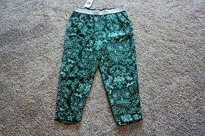 Baby Gap Pants Size 2 4 yrs 2T 4T Toddler Girls Green Silver Fox NWT NEW Clothes