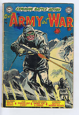 Our Army at War # 17 DC Pub 1953