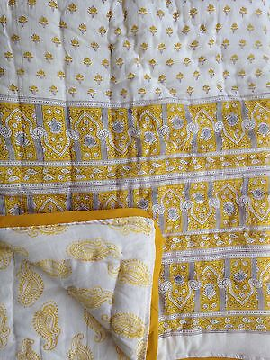 Boho Inspired Baby/toddler Quilts Yellow Palace