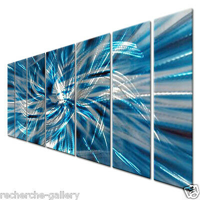 Large Modern Metal Wall Decor by Artist Ash Carl Contemporary Home Décor