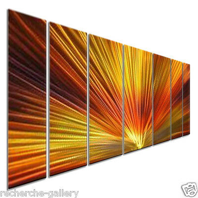 Metal Wall Art Sculpture Ash Carl Abstract Painting Modern Home Decor