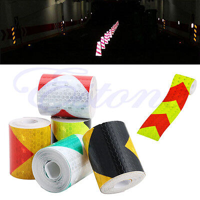 """2/""""X118/"""" Chequer Night Reflective Safety Warning Conspicuity Tape Strip Sticker"""