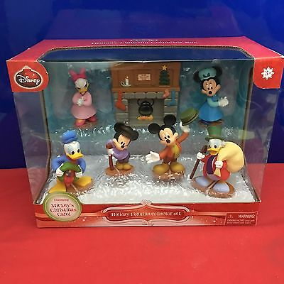 Disney Holiday Figures Deluxe Set Mickey's Christmas Carol 2015