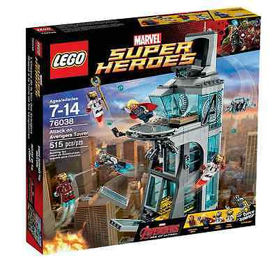 LEGO® Marvel Super Heroes 76038 Attack on Avengers Tower NEU OVP NEW MISB  NRFB