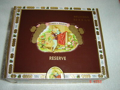 Cigar Box for crafts handbags jewellry boxes guitars stomp boxes  Habana Reserve