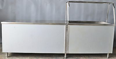 Used Cafeteria Heated Waterless 14' Serving Line,Excellent, Free Shipping!