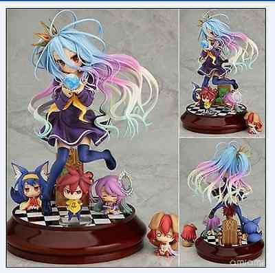 No game no life Imanity Shiro 1/7 scale painted Anime pvc figure in box