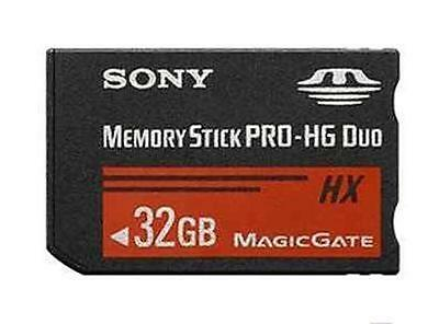 32GB Memory Stick adapter MS PRO-HG Duo HX MagicGate Card For SONY PSP CAMERA