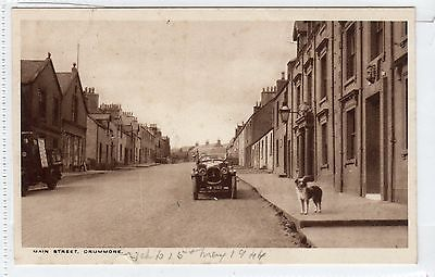 MAIN STREET, DRUMMORE: Wigtownshire postcard (C13675)