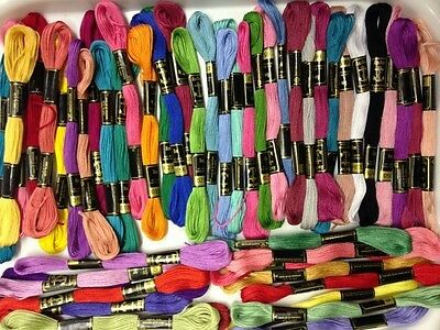 Anchor 100% Cotton Thread.50 Skeins, Stranded, Deal! UK STOCK best colours