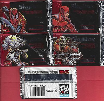 1993 SKYBOX MARVEL UNIVERSE IV  single Wax Pack