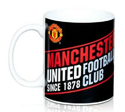 Manchester United FC Established Ceramic Mug Free UK Postage
