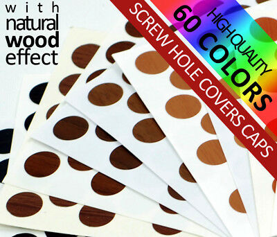 14 mm Round PVC 60 Colours Code Dot Self Adhesive Sticker on Furniture Label