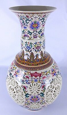Authentic Chinese Porcelain Vase - Hand Made