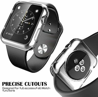 Apple Watch iWatch Case Protective Cover Protector Clear 38mm Sport Bumper 38 mm