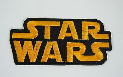 STAR WARS Logo Embroidered Iron-On Patch - 3.5""