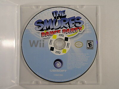 ¤ The Smurfs: Dance Party ¤ (Game Disc) GREAT Nintendo Wii