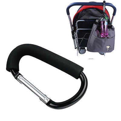 Trendy Baby Pushchair Stroller Clip Hook Buggy Pram Carabiner Diaper Bag Hanger