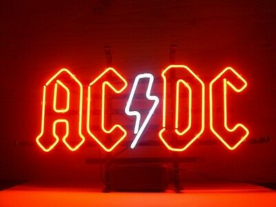 AC DC Bar Beer Pub Store Display Garage New Neon Light Sign BC31