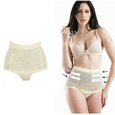 Tummy Buttock Trimmer Shaper Slimming Knickers Pants Waist Cincher Firm Control