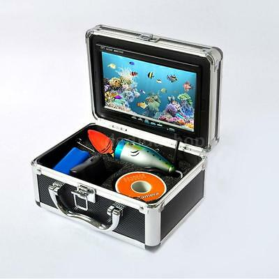 "Fish Finder 7"" TFT LCD Monitor 600TV Video Camera HD 15M Cable Tackle Pro OY5R"