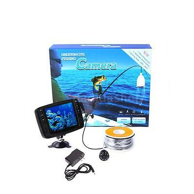 Monitor Underwater 8 Infrared LED Camera 30M Cable Fish Finder OY50