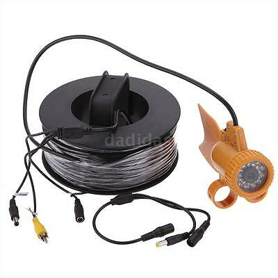 20M Cable Underwater Fishing Color Video Camera LEDs Fish Finder Outdoor