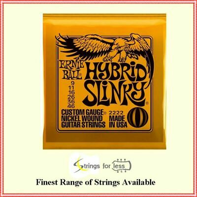 Ernie Ball Hybrid 2222 Slinky Nickel Wound  .009 - .046  Electric Guitar Strings