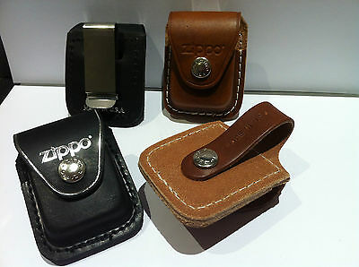 Genuine Zippo Leather Lighter Pouch