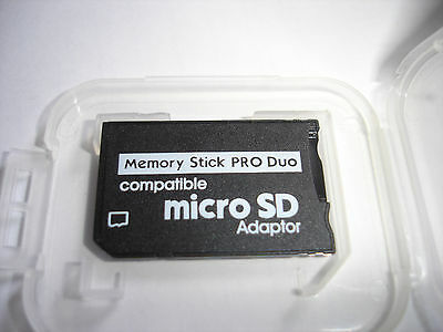 Sony compatible PRO DUO adapter for  microSD adapter ,2gb,4gb,8gb