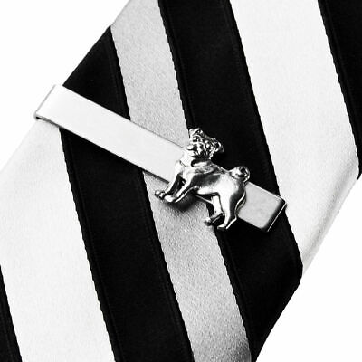 Pug Tie Clip - Tie Bar - Tie Clasp - Business Gift - Handmade - Gift Box