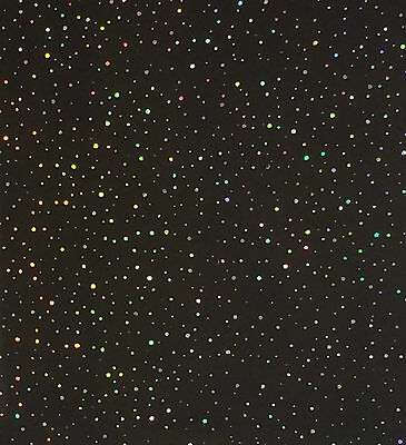 BLACK RAINBOW SPARKLE Wet Wall Panels 8mm Thick Bathroom Kitchen Ceiling Panels