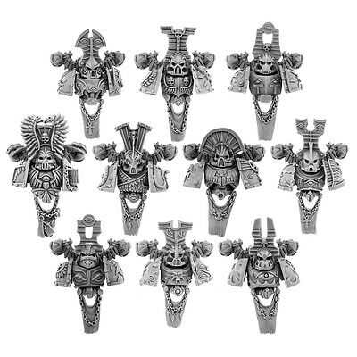 28mm-scale THOUSAND EGYPT SONS WARRIORS CONVERSION SET FOR 10 UNITS