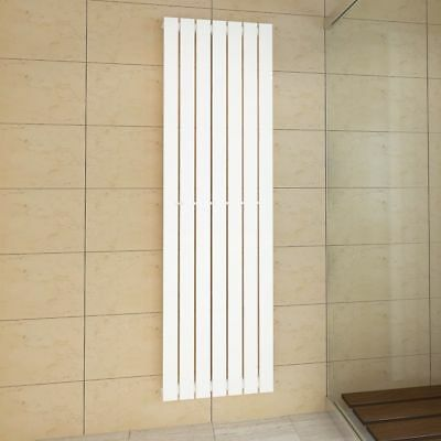 New Modern Heating Flat Panel Single Radiator Vertical White Sizes Selectable