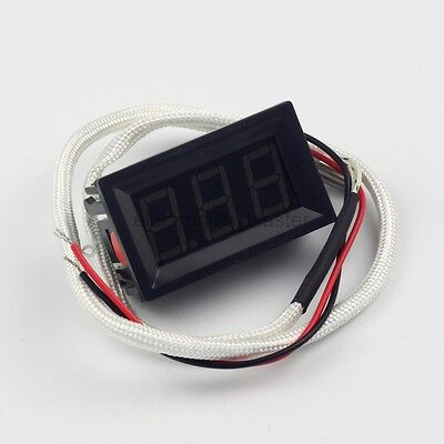 Digital Thermometer Temperature Test Meter -30-800 ℃ with K Type Thermocouple