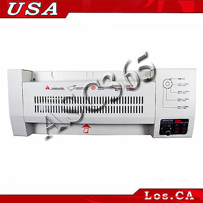 "New Upgrade Laminator Pouch Film Laminating Machine 12.5"" A3 Size All Metal"