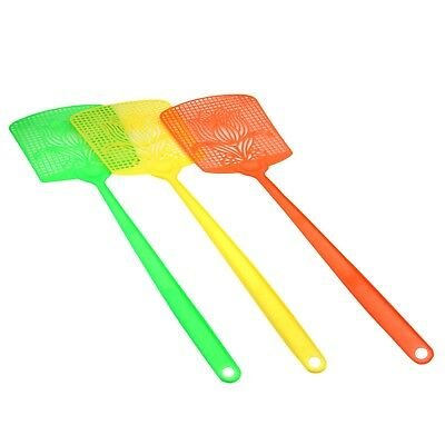 3pc Utility Insect Fly Mosquito Swatter Killer Control Racket Fly-swatter Supply