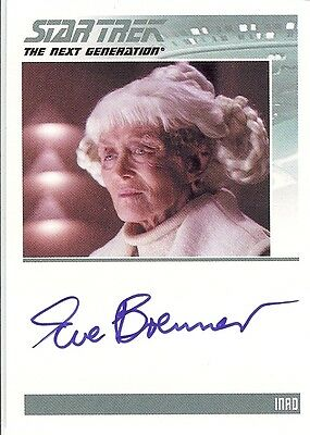 TNG Complete Serie 2 : Eve Brenner (Inad) autograph