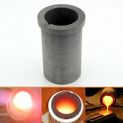 4kg 140oz Gold Purity Graphite Crucible Cup Furnace Torch Melting Metal Jewelry