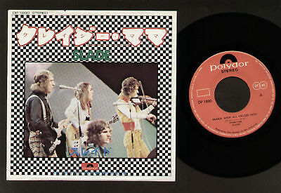 "7"" Slade Mama Weer All Crazee Now / Man Who Speeks Evil Made In Japan Dp 1890"