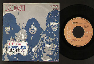 "7"" The Sweet Poppa Joe / Jeanie Rca Victor 1972 Glam Pop Rock Made In Italy"